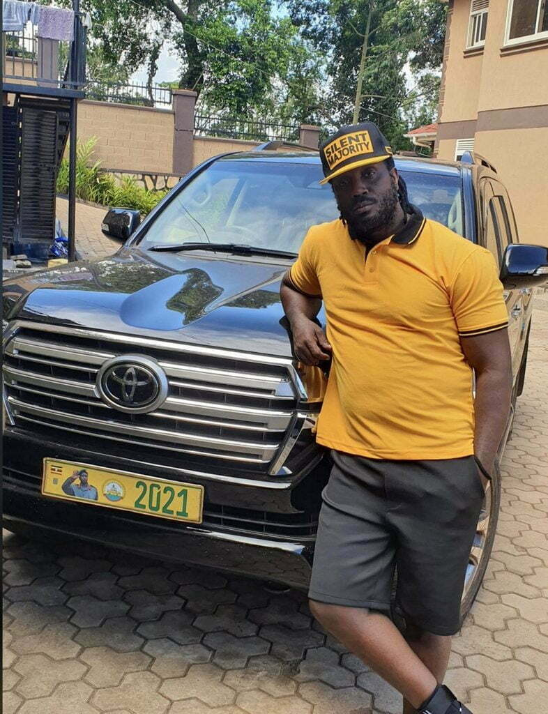 NRM mobilizer and musician Bebe Cool
