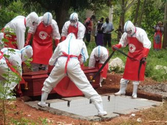 Uganda Red Cross Society Covid-19 burial