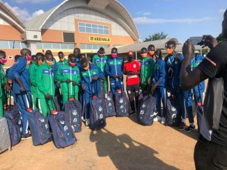 South Sudan's U-17 team