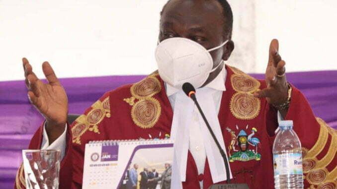 Chief Justice Owiny-Dollo declines to step down from Bobi Wine's petition panel