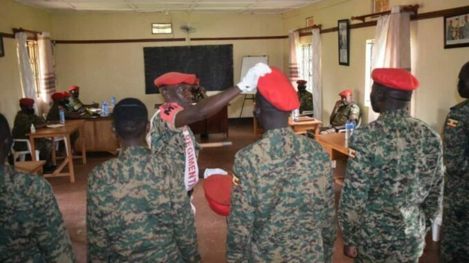 Ugandan military court charges seven soldiers for assaulting journalists