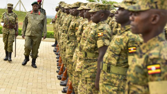 Is UPDF acting like a military wing of the ruling NRM party?