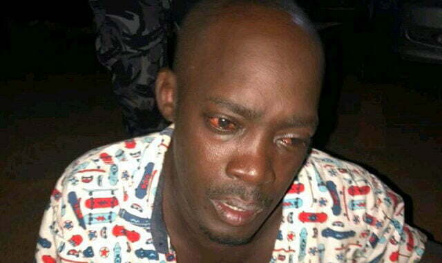 Michael Kinalwa, criminal gang leader faces more than 10 cases of robbery, theft, burglary and assault registered at Katwe and Makindye police stations. Courtesy photo