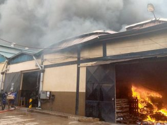 Fire guts Madhvani, Joint Medical Stores warehouses