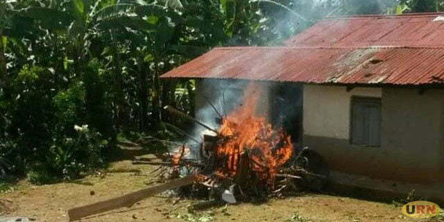 Mob raids funeral, burns body and coffin of suspected kidnapper