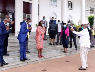 Kenyan trade officials meet President Museveni over sugar exports