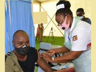 Over 5,000 police officers in Kampala dodge COVID-19 vaccination