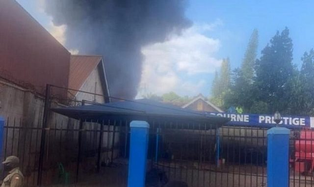 Fire guts Royal Paint factory in Kampala suburb
