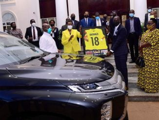 Football fraternity excited as Museveni honours former cranes star Onyango