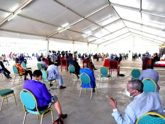 Parliament spends over Shs 1 billion to hire tents for plenary sessions