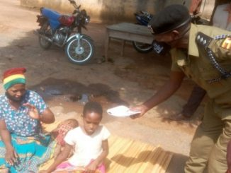 Arua Police stuck with abandoned Rwandese woman and her 2 daughters