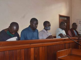 Five Gen Katumba attack suspects arraigned in court with torture wounds