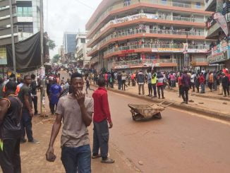Kampala traders protest new textile taxes, rent arrears