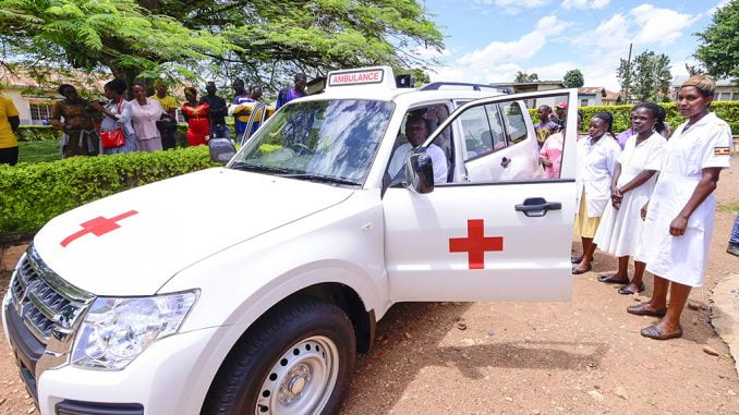 Uganda starts installing trackers in all government ambulances