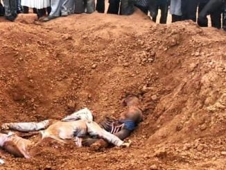 Two teens buried alive taking selfies at murram extraction site in Uganda