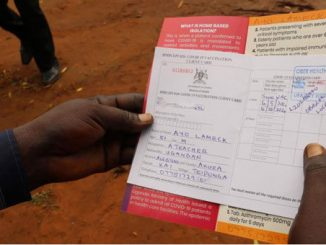 Fake COVID-19 vaccination cards on sale at Shs 100,000 in Lira